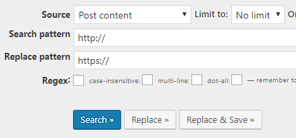 WordPress Search Regex 04